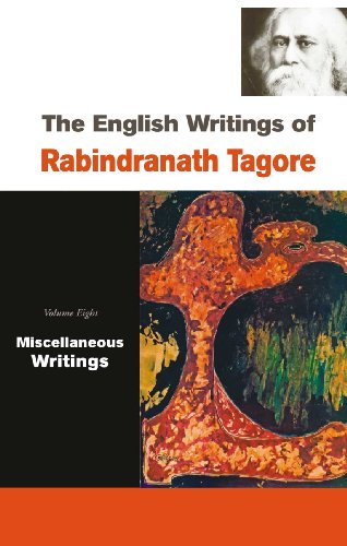 9788126906666: The English Writings of Rabindranath Tagore, 8 Vols. Set (Vols. 1 & 2 -- Poems; Vol. 3 -- Plays, Stories; Vol. 4 & 5 -- Essays; Vol. 6 -- Essays, ... Addresses; Vol. 8 -- Miscellaneous Writings)