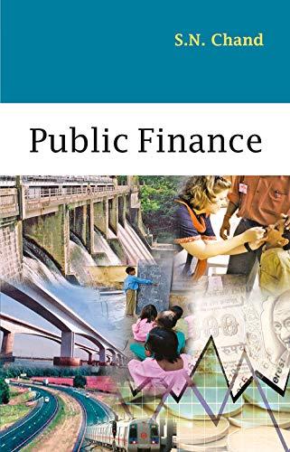 9788126908004: Public Finance, Volume 1 (Pt. 1)
