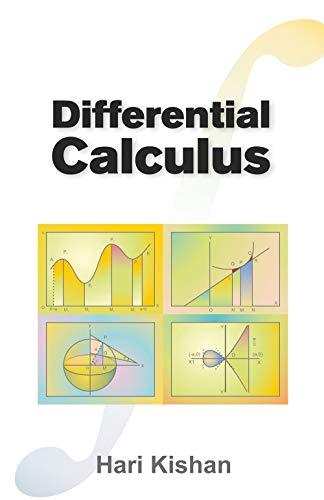 9788126908219: Differential Calculus