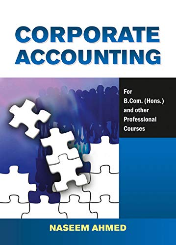 Corporate Accounting: Naeem Ahmed