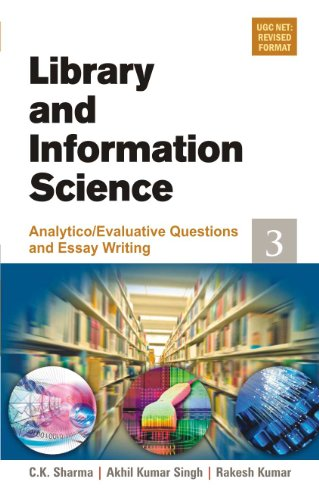 9788126908929: Library & Information Science Analytico/Evaluative Questions and Essay Writing (Pt. 3)