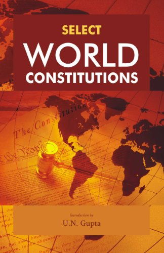 9788126910670: Select World Constitutions