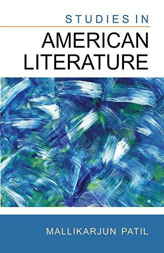 Studies in American Literature: Mallikarjun Patil