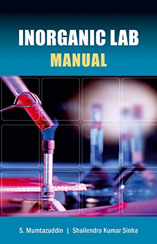 9788126912315: Inorganic Lab Manual