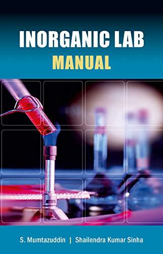 Inorganic Lab Manual: S. Mumazuddin/ Shailendra Kumar Sinha