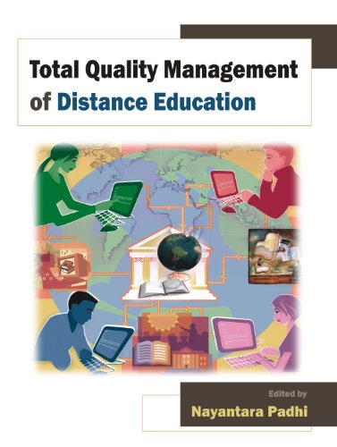 9788126913879: Total Quality Management of Distance Education