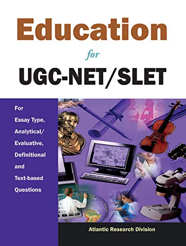 Education for UGC-NET/SLET: For Essay Type, Analytical/Evaluative,: Atlantic Research Division