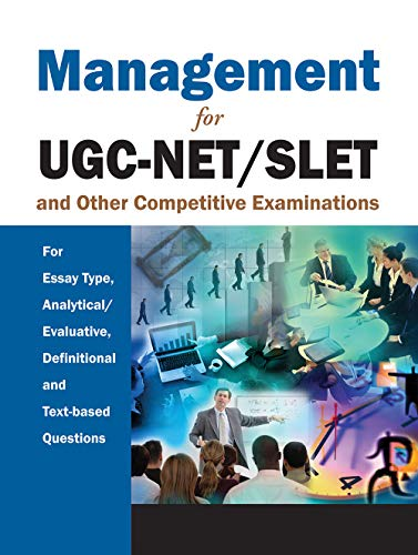 Management for UGC-NET/SLET and Other Competitive Examinations: Atlantic Research Division