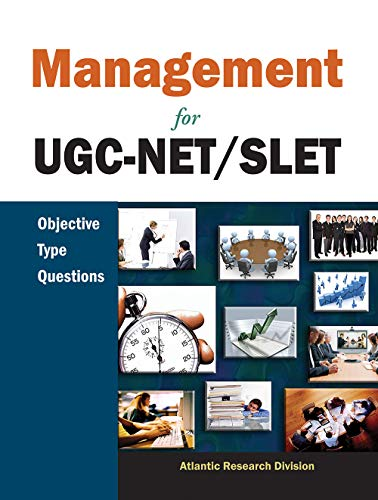 Management for UGC-NET/SLET: Objective Type Questions: Atlantic Research Division