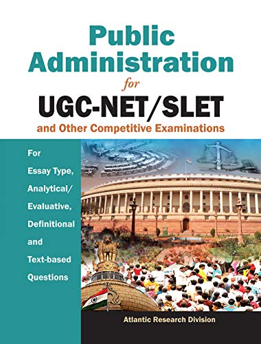 Public Administration for UGC-NET/SLET & Other Competitive: Atlantic Research Division