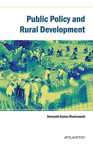 Public Policy and Rural Development: Hemanth Kumar Mantrawadi