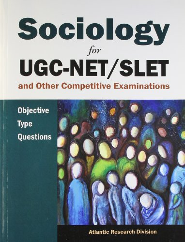 Sociology for Ugc-net/slet and Other Competitive Examinations: Atlantic Research Division