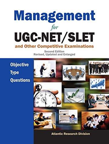 Management For Ugc-Net/Slet And Other Competitive Examinations