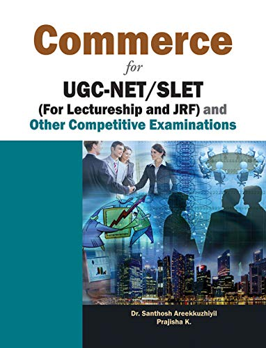 9788126918744: Commerce for UGC-NET/ SLET (for Lectureship and JRF) and Other Competitive Examinations