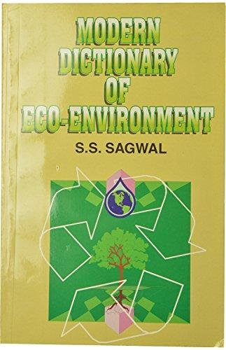 9788127206376: Modern Dictionary of Eco-Environment