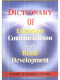 Dictionary of Extension Communication and Rural Development: Pandey A.K., Srivastava