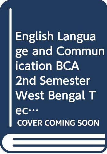 English Language & Communication BCA 2nd Sem.: Arora Abhishek