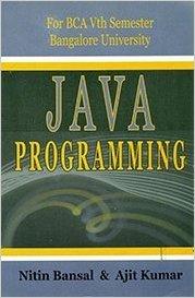 9788127262440: Java Programming Bca 5th Sem. Bangalore