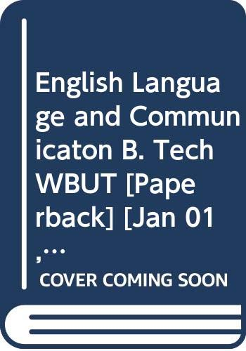 English Language & Communication B.Tech WBUT: Arora Abhishek