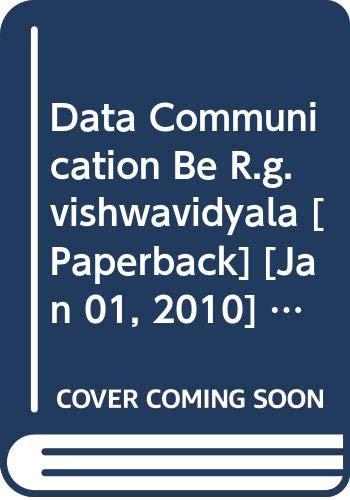 Data Communication BE R.G. Vishwavidyala: Rachhpal Singh, Sharma