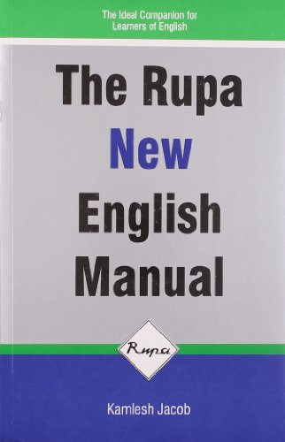 The Rupa New English Manual: Jacob, Kamlesh