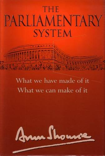 9788129111920: The Parliamentary System India