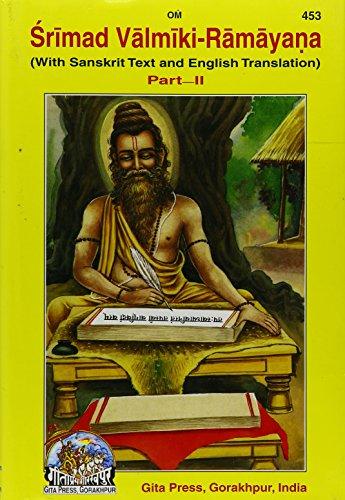 9788129300300: Srimad Valmiki Ramayana: Pt . 2