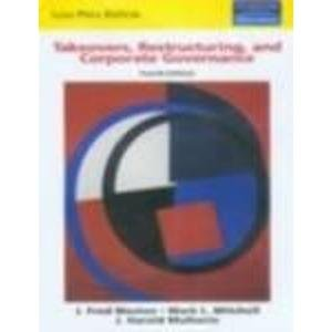 9788129703521: Takeovers, Restructuring and Corporate Governance (4th International Edition)