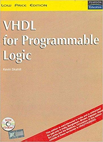 9788129704856: Vhdl For Programmable Logic, 1/E