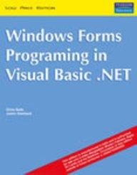 9788129705181: Windows Forms Programming in Visual Basic .NET (Livre en allemand)