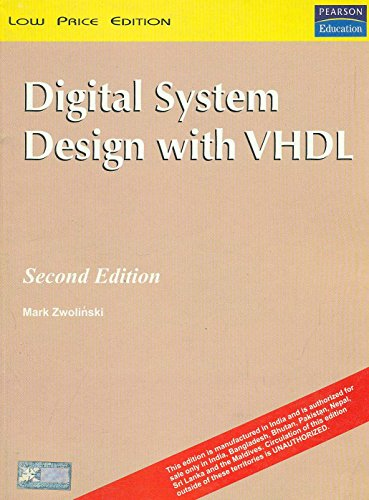 9788129706508: Digital System Design With Vhdl 2Nd Edition