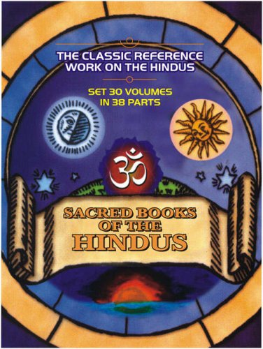 The Sacred Books of the Hindus: Set in 30 Volumes in 38 Parts.: Series Editor: B.D.Basu