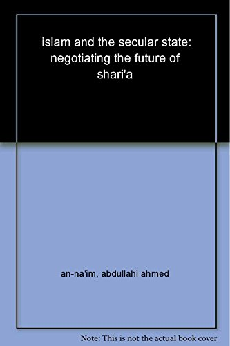 9788130914428: Islam and the Secular State
