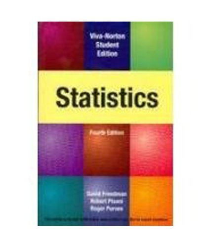 9788130915876: Statistics, 4th Edition