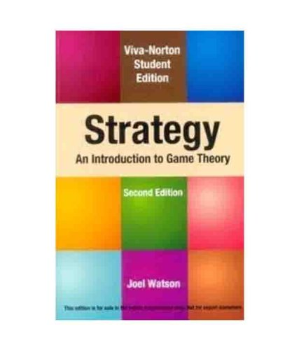 9788130915999: Strategy: An Introduction to Game Theory