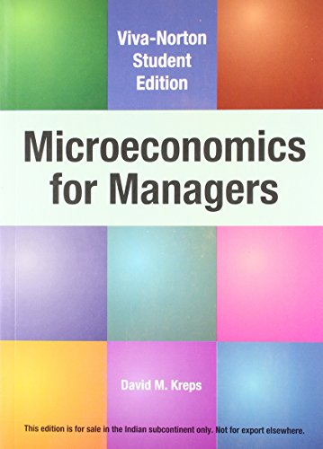 9788130917054: Microeconomics for Managers