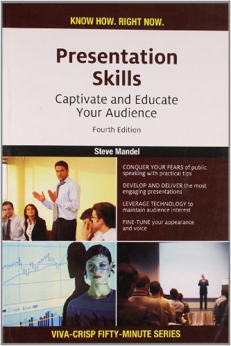 9788130918167: Presentation Skills: Captivate and Educate Your Audience