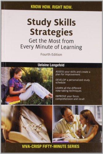 Crisp Fifty Minute Series - Study Skils: Uelaine Lengefeld