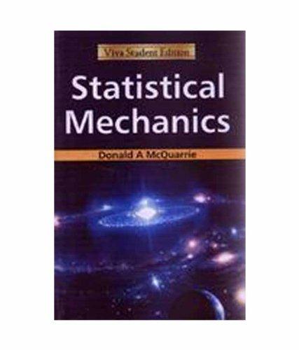 9788130918938: Statistical Mechanics