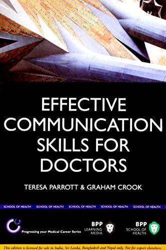 9788130920924: Effective Communication Skills for Doctors