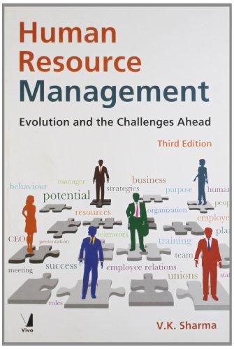 Human Resource Management, 3/e: V.K. Sharma
