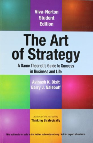 9788130923581: The Art of Strategy