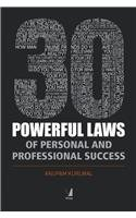 9788130927619: 30 Powerful Laws Of Personal And Professional Success