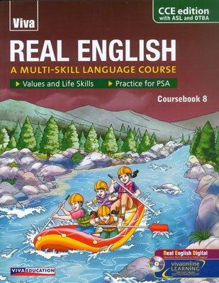 9788130928975: Real English-8, (With CD, Rev. CCE Ed.,PSA, ASL & OTBA)