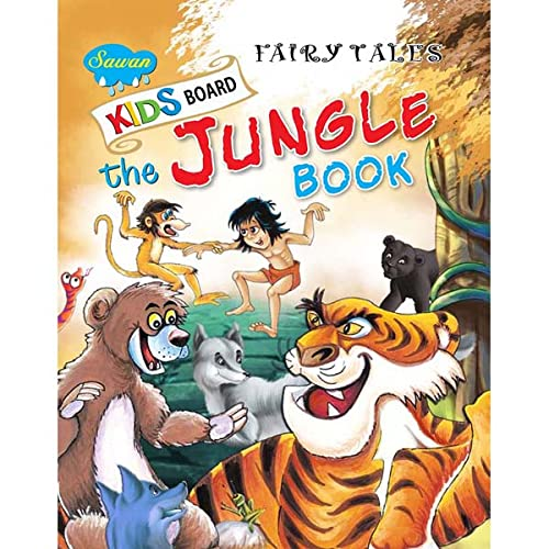 Kids Board Fairy Tales the Jungle Book: Manoj Publications