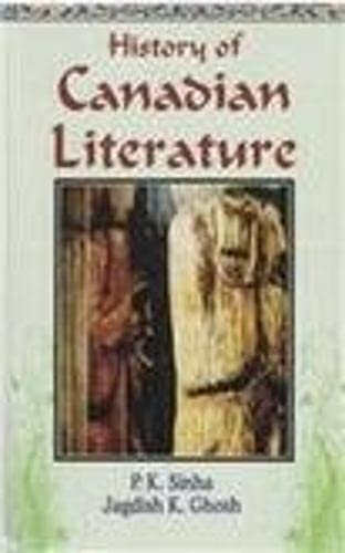 9788131103234: History of Canadian Literature