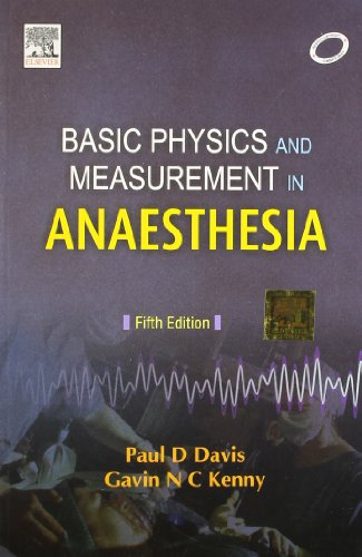 9788131200827: Basic Physics and Measurement in Anaesthesia 5/e