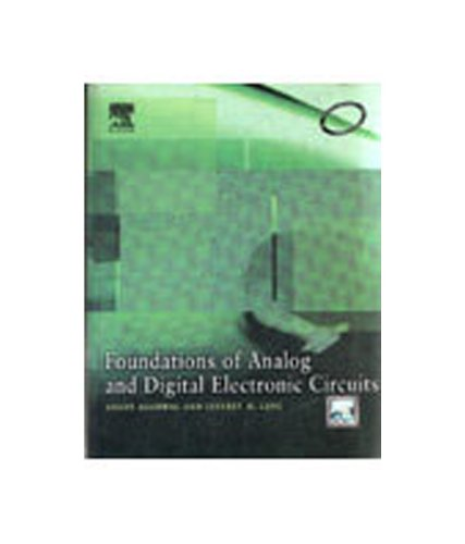 9788131200896: Foundations Of Analog and Digital Electronic Circuits