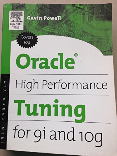 9788131201039: Oracle High Performance Tuning For Gi And 10G