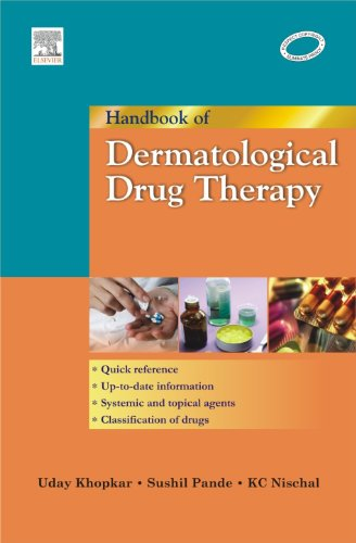 9788131203163: Handbook of Dermatological Drug Therapy